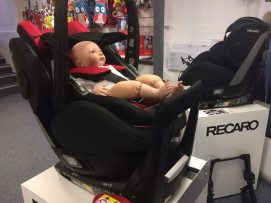 """Fred"" in Recaro Zero 1. Elite"