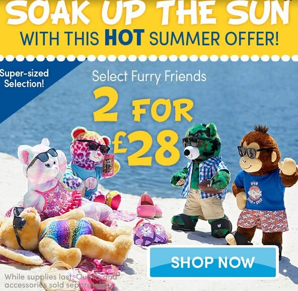 Build a Bear SALE!