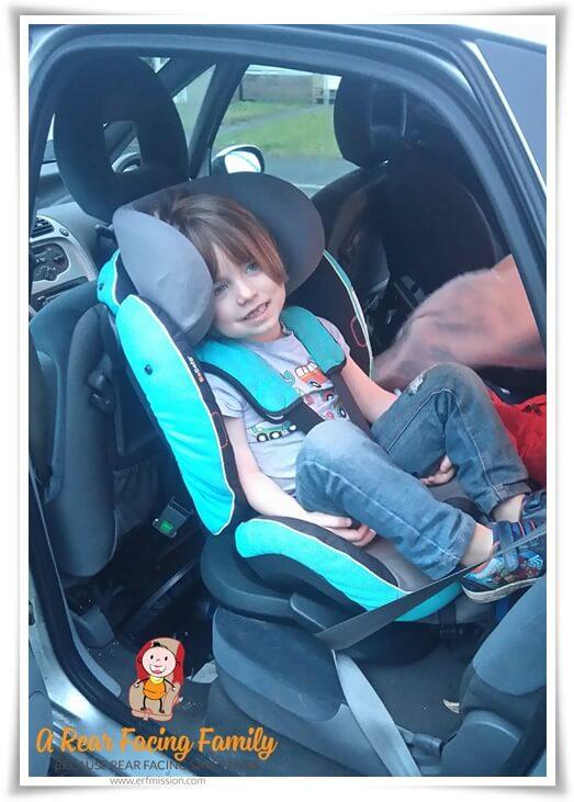 Henry age 4,5 BeSafe izi Plus