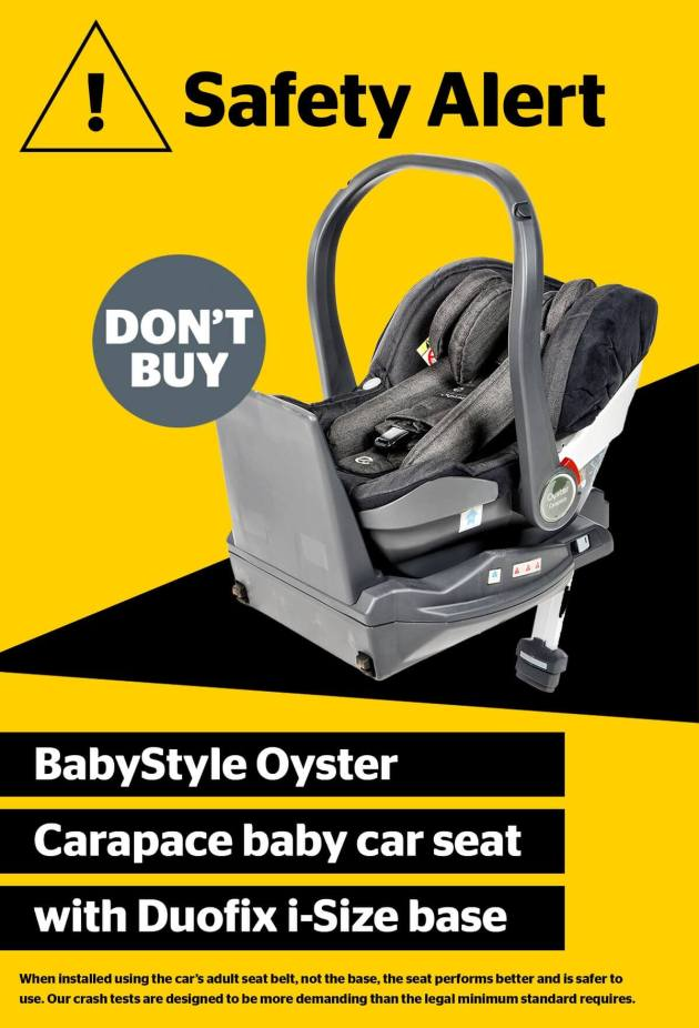 BabyStyle Oyster Carapace i-Size fail
