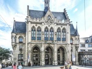 Rathaus Erfurt am Fischmarkt