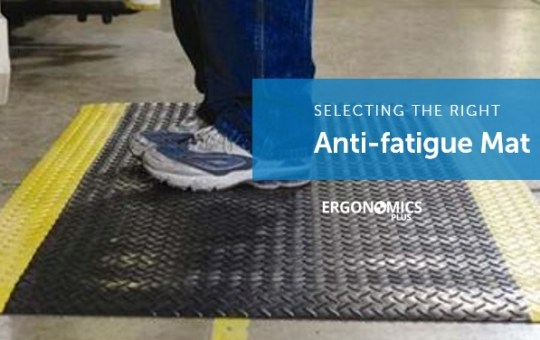 Injury Prevention Tip — The Softer the Anti-fatigue Mat the Better?