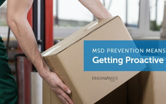 How to Prevent Musculoskeletal Disorders (MSDs) in Manual Material Handling Environments