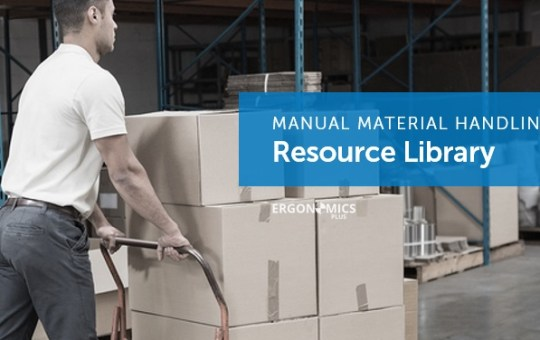 58 Helpful Ergonomics and Injury Prevention Resources for Manual Material Handling