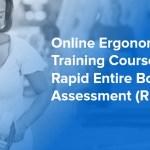Online Ergonomics Training Course — Rapid Entire Body Assessment (REBA)
