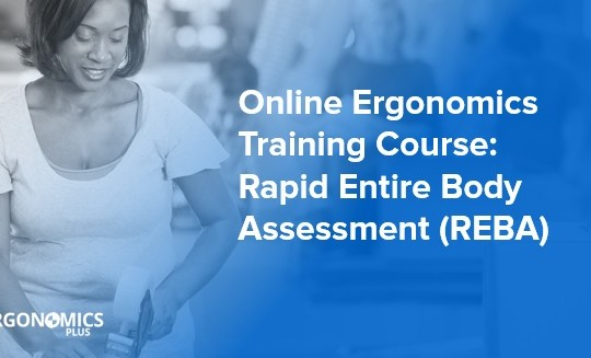 Online Ergonomics Training Course — Rapid Entire Body Assessment (REBA)