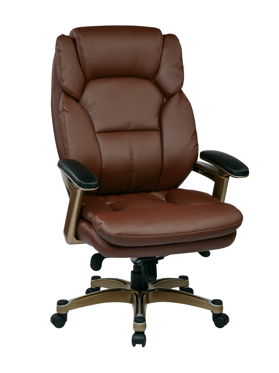 Executive Leather Chair Executive Bonded Leather Chair Cocoa Wine