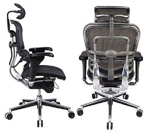 aeron chair review 2017 grey and white dining chairs ergohuman high back swivel | ergochill.com