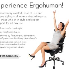 Ergonomic Chair Types What Is Air Training Ergohuman Chairs Shop And Office Products The Original