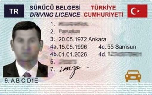 ehliyet sürücü