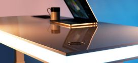 TableAir : An ergonomic desk with clever design