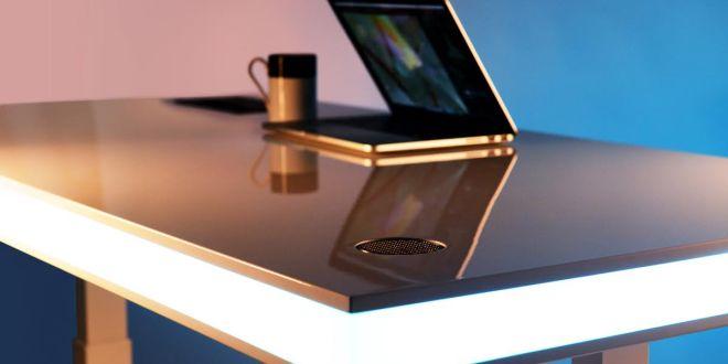 tableair an ergonomic desk with clever design - Ergonomic Desk Design