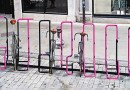 What if a simple bike parking rack became the symbol of a neighbourhood?