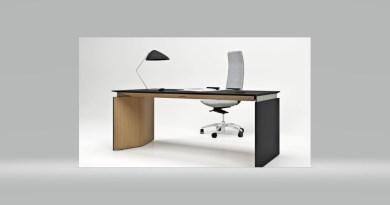 """Le bureau """"assis-debout"""" MOVE aux lignes géométriques et pures"""
