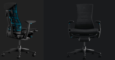 Gamers shaking up ergonomics: the new chair from Logitech and Herman Miller