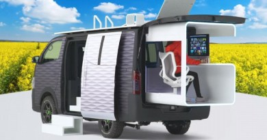 Mobile Office Dream Come True: New Nissan NV350 Office Pod Concept