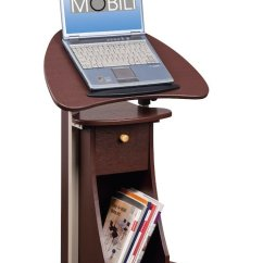 Ergonomic Chair Cushion And Sofa Covers Stand Up Desk: Rolling Laptop Cart With Storage | Ergonomics Fix