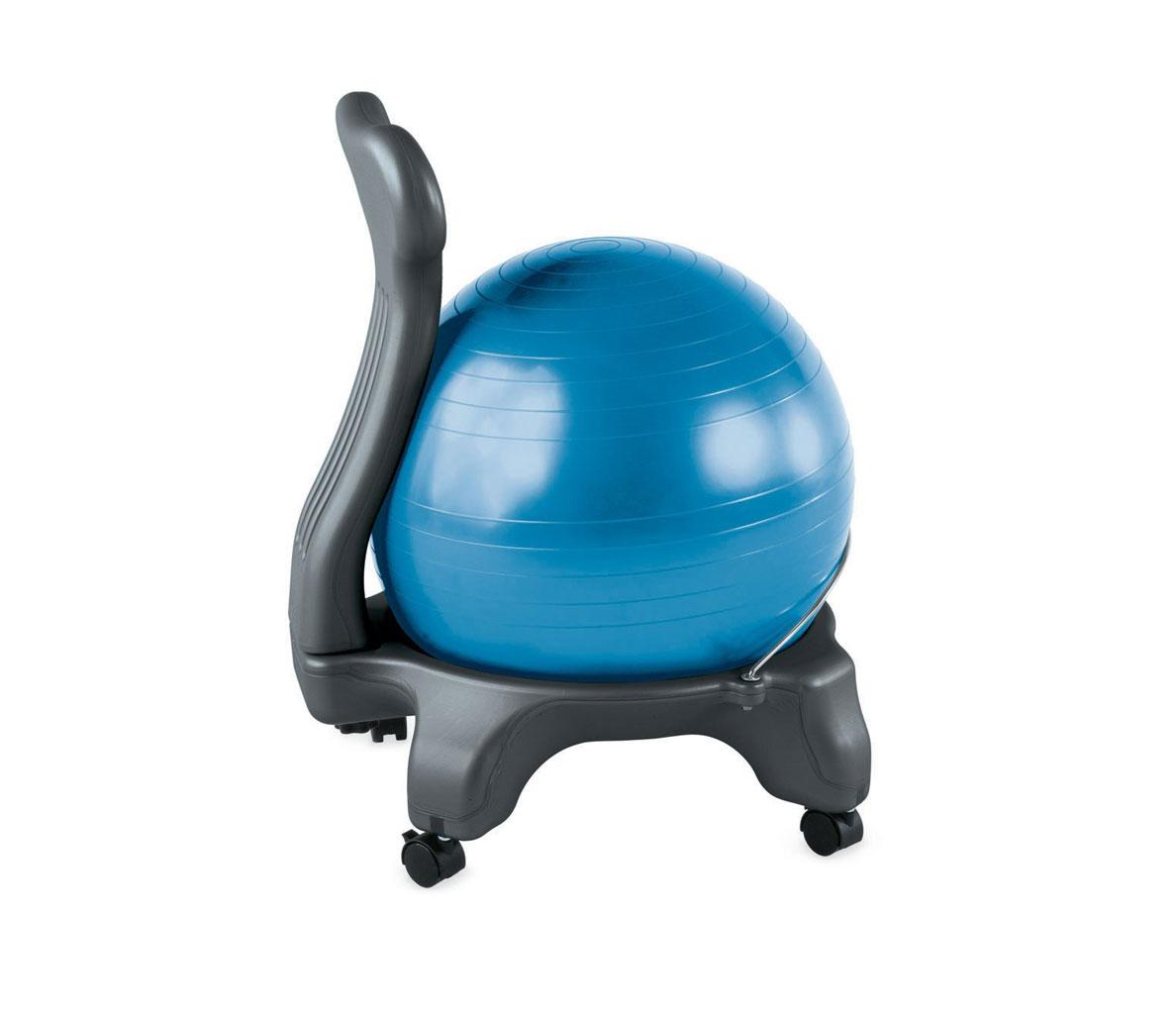 posture fixer chair club chairs walmart gaiam balance ball ergonomics fix