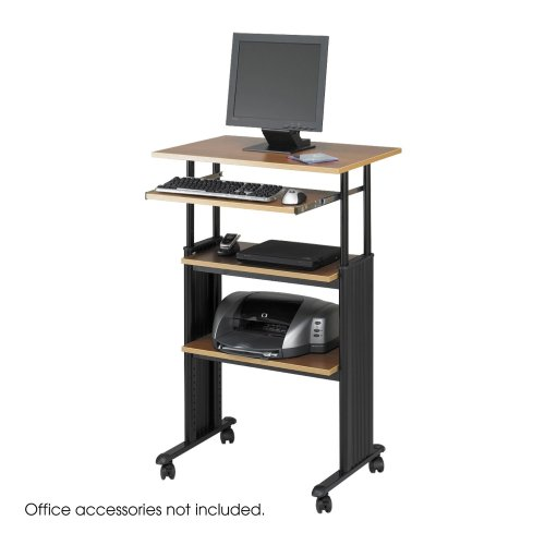 STAND UP desk safco muv adjustable height workstation