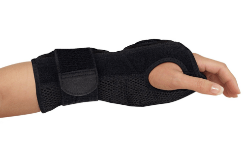 carpal tunnel wrist brace for night - mueller sports medicine night support brace