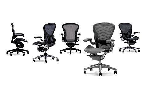 Aeron Chair by Herman Miller - best herman miller chairs