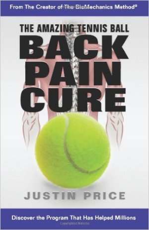 best low back pain books - The Amazing Tennis Ball Back Pain Cure