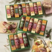 gift ideas for people with diabetes - 6 Piece Sausages 'n Cheese Bars from The Swiss Colony