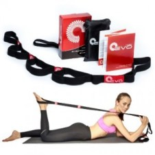 help sore muscles with Yoga EVO Premium Stretching Strap with Loops + eBook & 35 Online Video Exercises