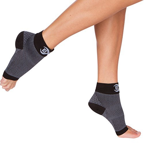 Click to open expanded view Compression Foot Sleeves for Plantar Fasciitis Relief - 1 Pair of Unisex (Men's & Women's) Athletic Socks that Provide Support and Recovery for Pain in Ankle, Heel, and Foot Arch