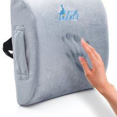 Back Pain Office Chair Cushion Wedding Covers Preston Best Lumbar Support Cushions To Fix Your