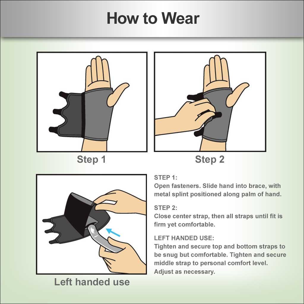 How To Wear A Carpal Tunnel Brace Ergonomics Fix