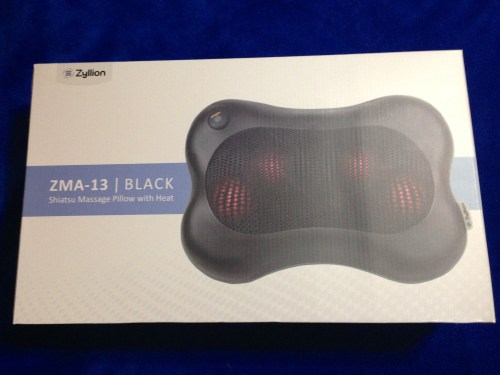 shiatsu massage pillow review