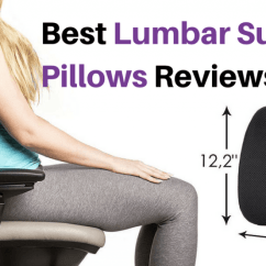 Best Office Chair Back Support Pillow Swivel Images Lumbar Pillows And Cushions For 2018 Reviews Buyer S Guide