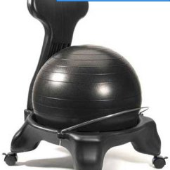 Ball Chair Base Only Swing Hanging 5 Best Balance Chairs For Better Posture And Core Ergonomic Luxfit Premium Fitness Exercise Reveiw