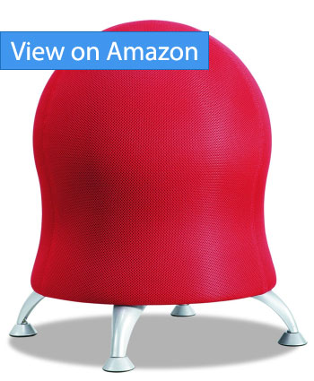 ball chair amazon decorations for wedding 5 best balance chairs better posture and core ergonomic safco products 4750ci zenergy review