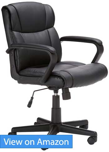 office chair quality outdoor cushions at target best ergonomic chairs under 100 low budget but high amazonbasics mid back review