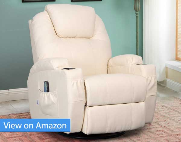 correct posture lounge chair ice cream best ergonomic living room chairs recliners and sofas 2018 edition esright massage recliner review