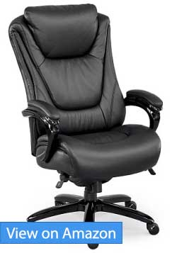 tall swivel chair uk minnie mouse recliner best big and ergonomic office chairs for 2019 must read nbf signature executive review