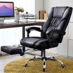 revolving chair for office white padded folding chairs best ergonomic of 2018 over 100 hours research songmics executive swivel review