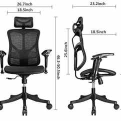 Office Chair Good Design Cool Desk Chairs For Girls Best Ergonomic Of 2018 Over 100 Hours Research Argomax Em Ec001 2