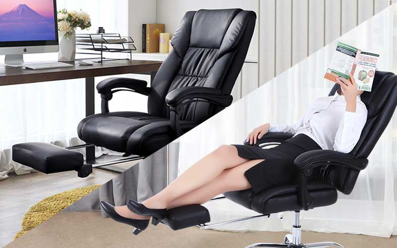 Best Reclining Office Chairs With Footrests (June 2018 Reviews)