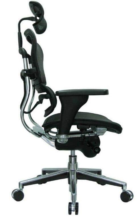 ergonomic chair dimensions office footrest attachment best chairs of 2018 over 100 hours research height adjustable 3 piece backrest that contours to your back and neck exactly