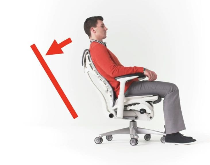 office sitting chairs chair under 1000 best ergonomic of 2018 over 100 hours research tilt degree tension and limiter to release back