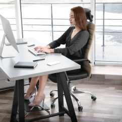 Posture Chair Sitting Work Proper At A Computer According To Experts