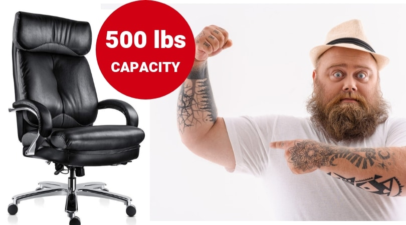 office chairs for heavy people shower at walgreens best big and tall with 500 lbs capacity must read