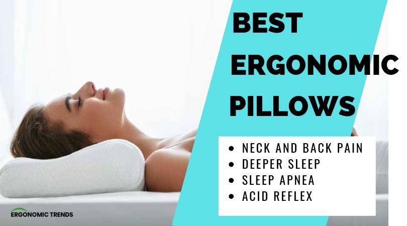 5 best ergonomic pillows that will