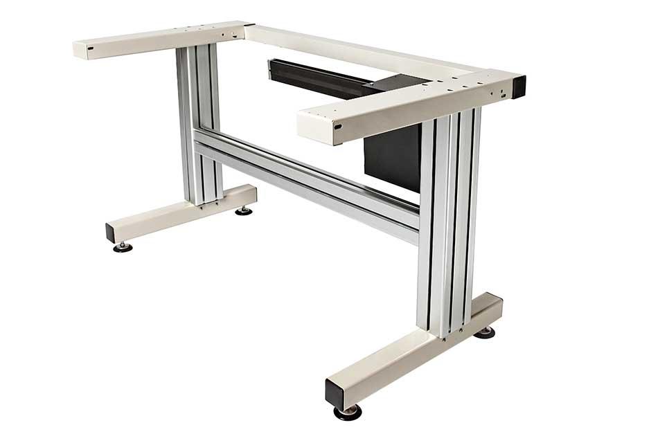 Electric Cantilever Adjustable Work Table Frame  Ergosource