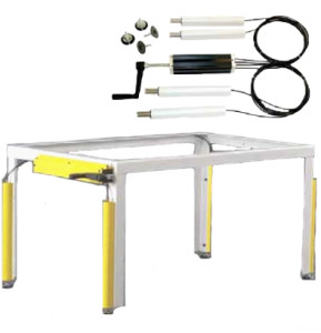 Hydraulic Lift  Lift Systems for Tables Benches  Desks