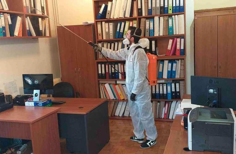 Προληπτική απολύμανση στο Δήμο Αριστοτέλη