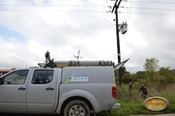 Χαλκιδική: Διακοπή ρεύματος από πτώση δέντρου